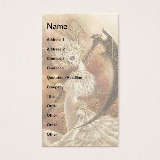Santa Muerte Businesscard