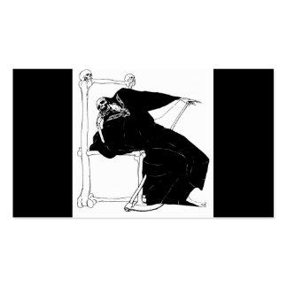 Santa Muerte (Mexican Grim Reaper) Business Card Templates