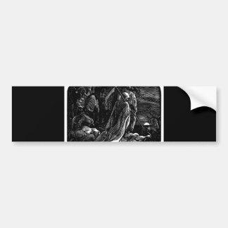 Santa Muerte (Mexican Grim Reaper) circa 1939 Bumper Sticker