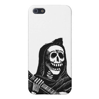 Santa Muerte (Mexican Grim Reaper) Playing Guitar Cover For iPhone 5/5S