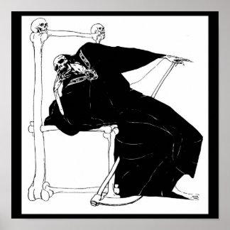 Santa Muerte (Mexican Grim Reaper) Poster