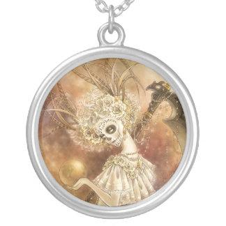 Santa Muerte Pendant Necklace
