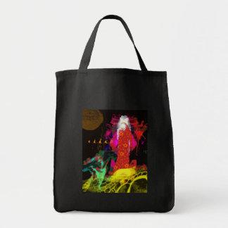 Santa Muerte Tote Grocery Tote Bag