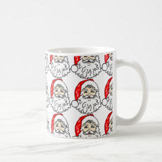 SANTA MUG CHRISTMAS CHEER COFFEE CUP