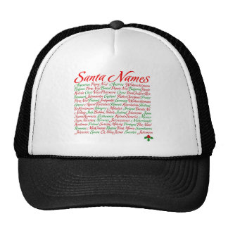 Santa Names Worldwide Cap