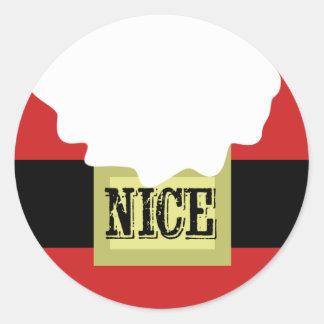 Santa NICE list Stickers