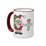 Santa North Pole Mugs