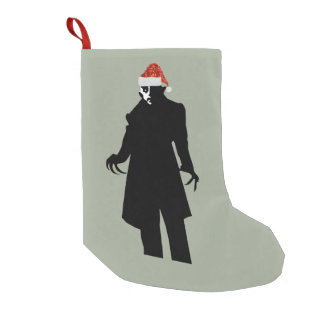 santa nosferatu xmas christmas stocking