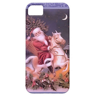 Santa on a horse iPhone 5 case