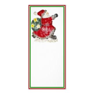 Santa on the Run! Rack Card Template