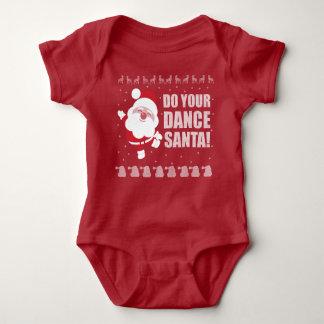 Santa Onsie Baby Bodysuit