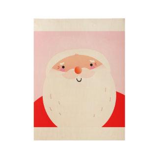 Santa original Wood poster