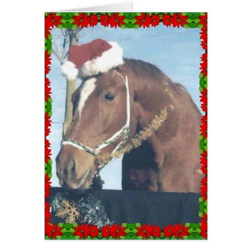 Santa Ouston Greeting Card