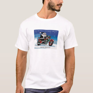 Santa Outlaw© T-shirt white
