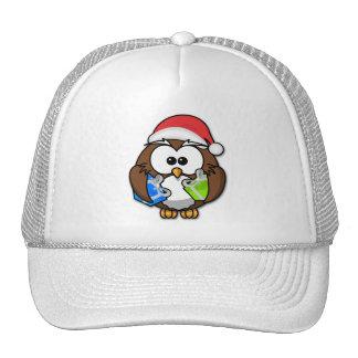 Santa owl cap