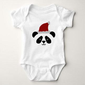 Santa Panda Baby Romper Baby Bodysuit