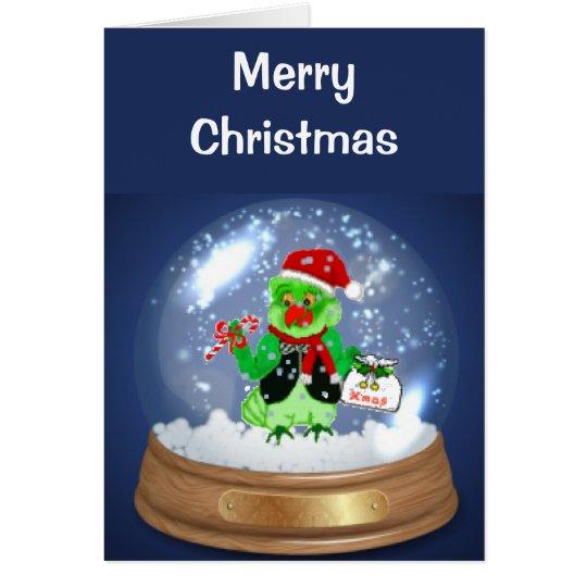 Santa Parrot Christmas Cards