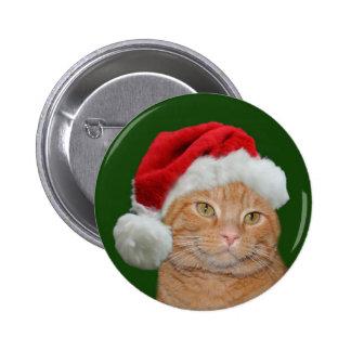 Santa Paws 6 Cm Round Badge