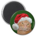 Santa Paws 6 Cm Round Magnet
