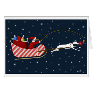 Santa Paws and Roo-dy Greeting Card