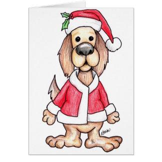 Santa Paws by Kenn Wislander Greeting Card
