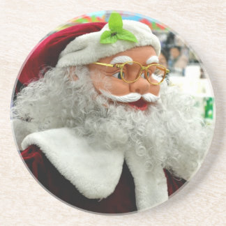Santa Peace Love Party Destiny Savvy Digital Drink Coaster