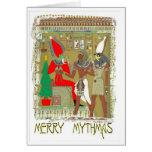 Santa Pharoah Cards