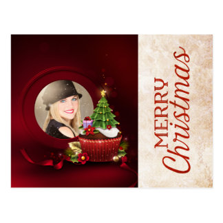 Santa Photo Christmas Card