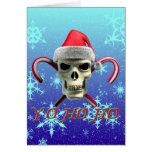 Santa Pirate Greeting Card
