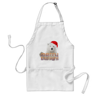 Santa Polar Bear | Beary Christmas Apron