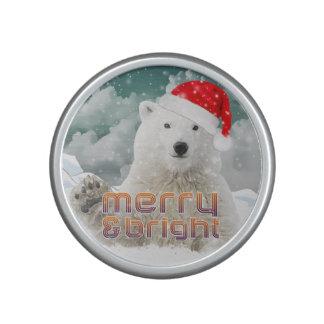 Santa Polar Bear | Beary Christmas Speaker