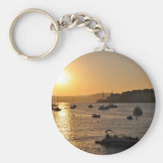 Santa ponsa sunset key ring