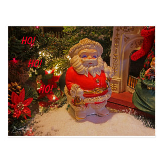 Santa Post Card