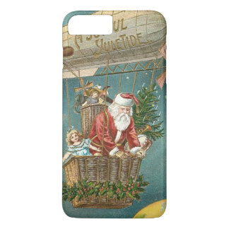 Santa Presents Gifts Christmas Tree Balloon iPhone 8 Plus/7 Plus Case