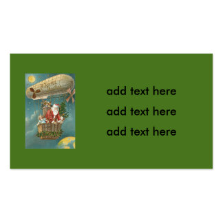 Santa Presents Gifts Christmas Tree Balloon Pack Of Standard Business Cards