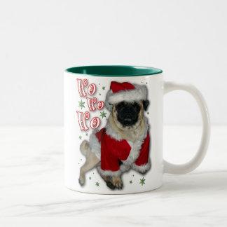 Santa Pug Coffee Mug