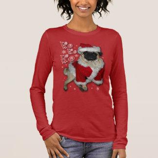 Santa Pug Dark T-Shirt