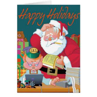 Santa Receives Tax Assistance Card