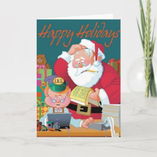 Santa Receives Tax Assistance Christmas Card
