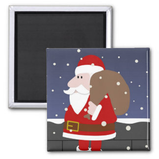 Santa Refrigerator Magnets