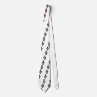 Santa Robot Tie