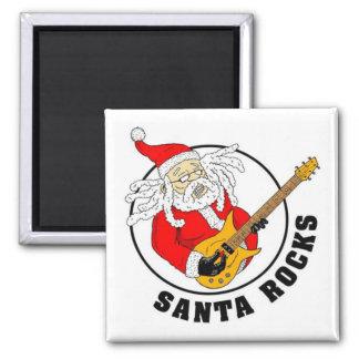 Santa Rocks Magnet