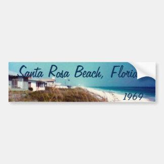 Santa Rosa Beach, Florida 1969 Bumper Sticker