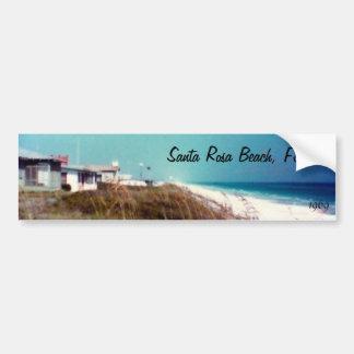 Santa Rosa Beach, Florida 1969 Car Bumper Sticker