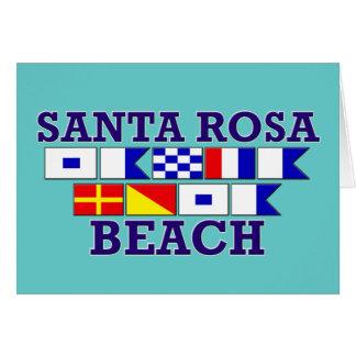 Santa Rosa Beach Notecard Note Card