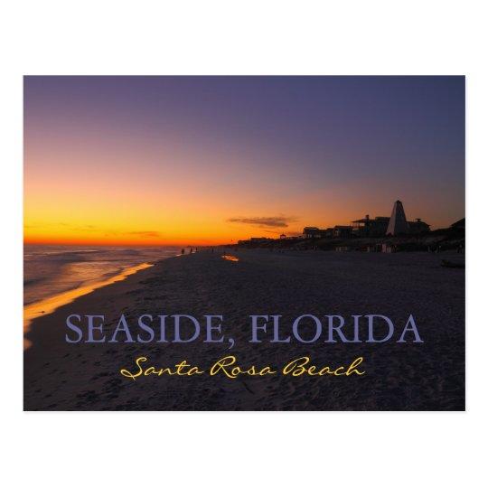 Santa Rosa Beach - Seaside, Florida Postcard
