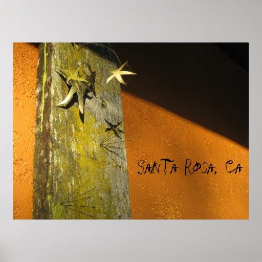 Santa Rosa, Ca. Art Print !