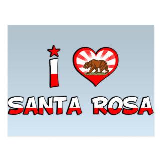 Santa Rosa CA Post Cards