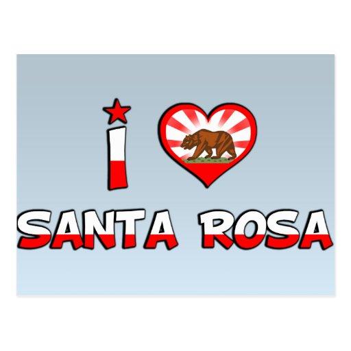 Santa Rosa, CA Post Cards