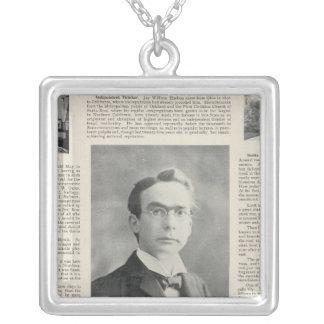 Santa Rosa, California 3 Silver Plated Necklace